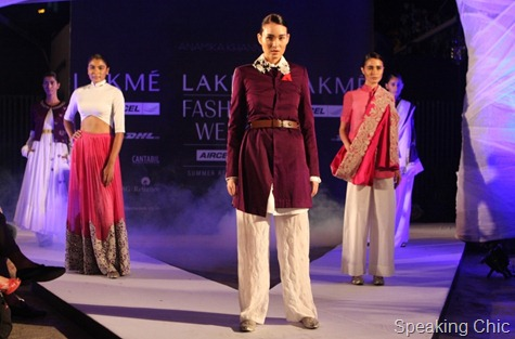 Models for Anamika Khanna at LFW S/R 2011