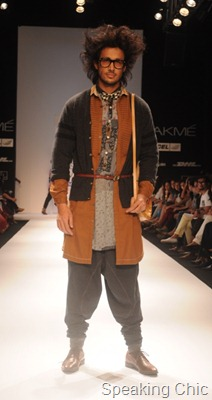 Mohammed Javed Khan at LFW W/F 2011- GenNext designer