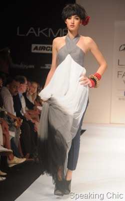 Nikhil Thampi at LFW W/F 2011