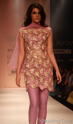 Rina Dhaka at LFW W/F 2011