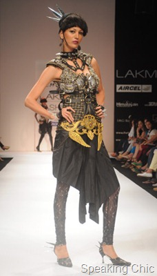 Siddharth Arya at LFW W/F 2011- GenNext designer