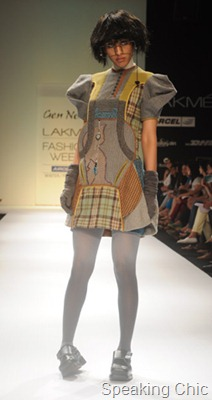 Urmi Ghosh - GenNext designer at LFW W/F 2011