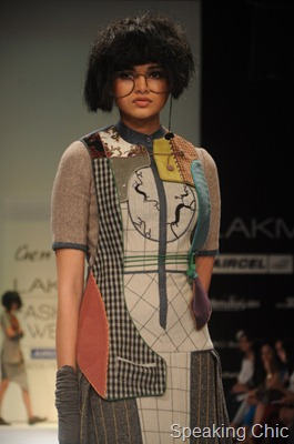 Urmi Ghosh at LFW W/F 2011- GenNext designer