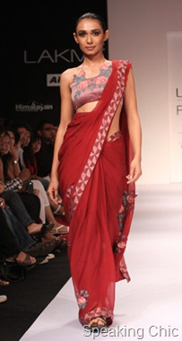 Model at Digvijay Singh for Bhusattva at LFW W/F 2011