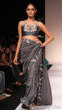 Model at Digvijay Singh for Bhusattva at LFW W/F 2011