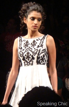 Model for Debarun at LFW W/F 2011