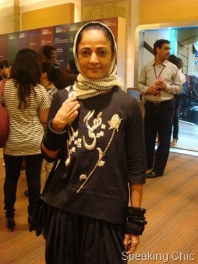 SAbina Chopra at Sabyasachi LFW W/F 2011