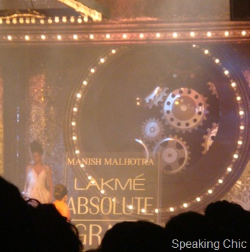 Manish Malhotra at LFW W/F 2011