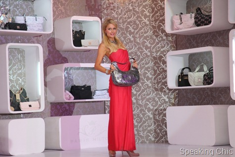 Paris Hilton handbag launch Mumbai