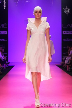 Model at Wendell Rodricks LFW W/F 2011