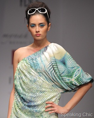 Reynu Taandon at WLIFW S/S 2012