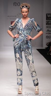 Mynah's Reynu Taandon at WLIFW S/S 2012