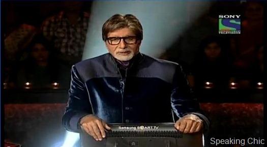 Amitabh Bachchan in KBC 5
