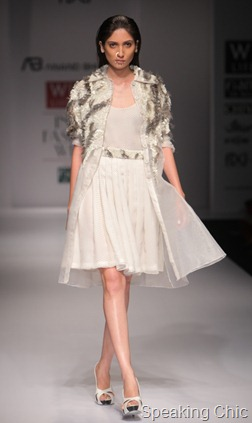 Anand Bhushan at WLIFW S/S 2012