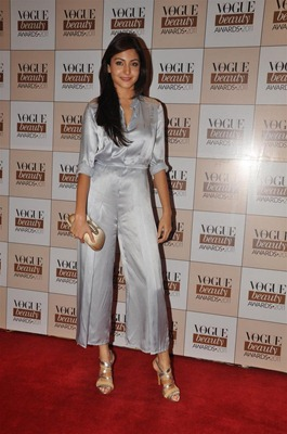 Anushka Sharma in metallic jumpsuit