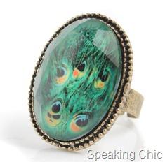 Toniq Mor- Peacock Ring