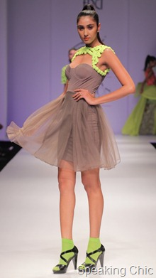 saaj by ankita at WLIFW S/S 2012