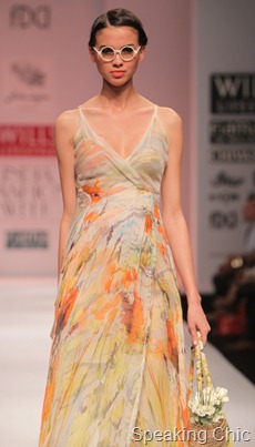 Geish by Paras-Shalini at WLIFW S/S 2012