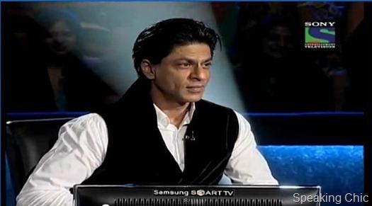 ShahRukh Khan in KBC5