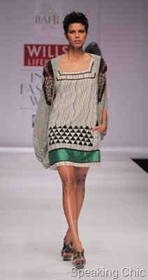 Vineet Bahl at WLIFW S/S 2012