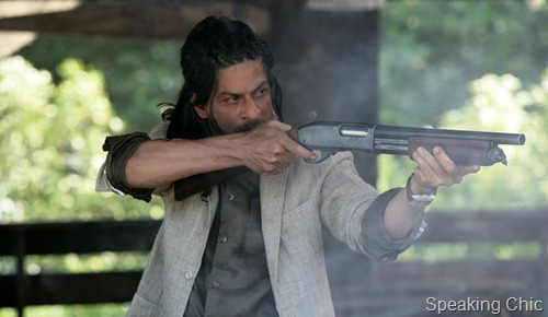 Shah Rukh Khan in Don 2- linen and cotton