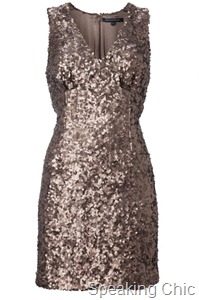 FC-Lucinda Sequin Fitted Dress