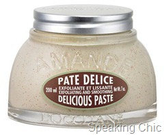 L'Occitane almond paste