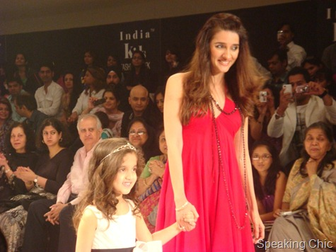 Shruti Seth at India Kids Fashion Week