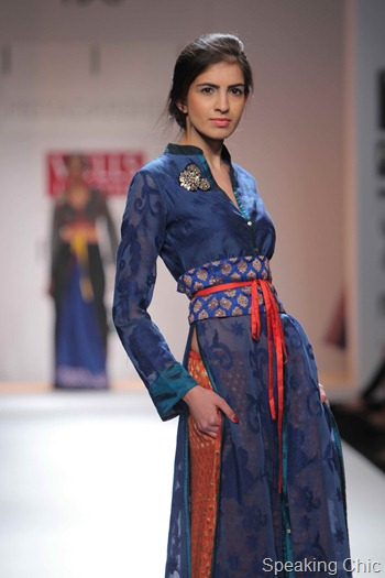Priyadarshini Rao at WIFW AW 2012