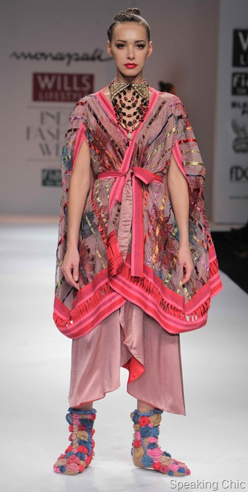 Monapali at WIFW AW 2012