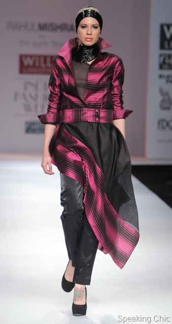 Rahul Mishra at WIFW AW 2012