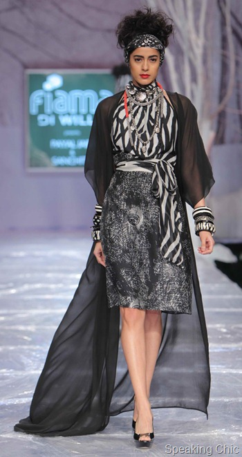 Payal Jain at WIFW AW 2012