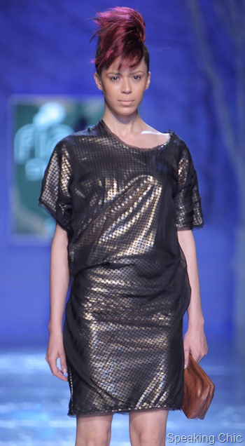 Sanchita at WIFW AW 2012