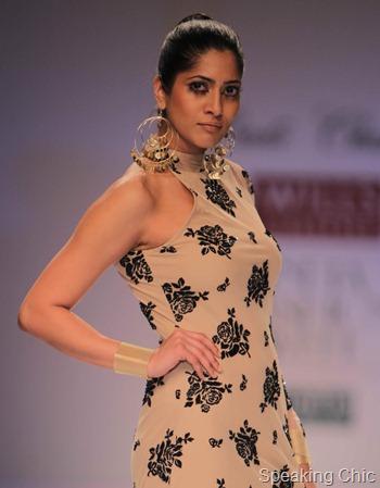 Preeti Chandra earrings at WIFW AW 2012