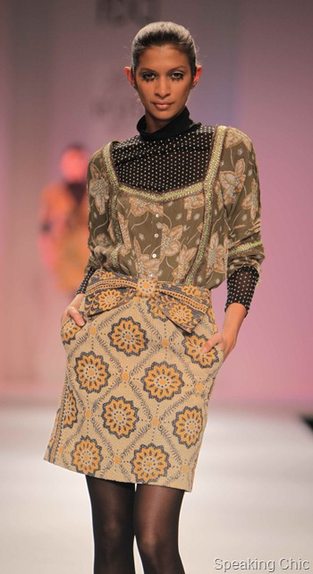 Vineet Bahl at WIFW AW 2012