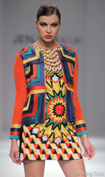 Jenjum Gadi at WIFW AW 2012