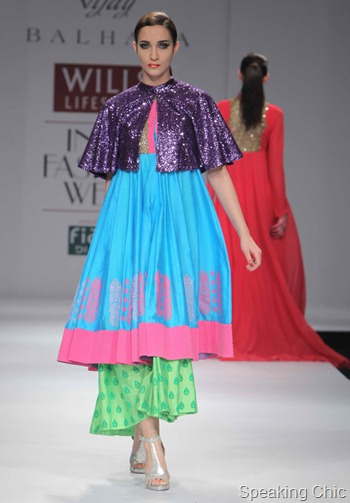 Vijay Balhara at WIFW AW 2012