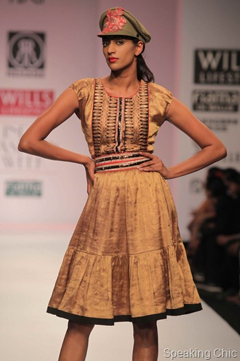 Rehane at WIFW AW 2012
