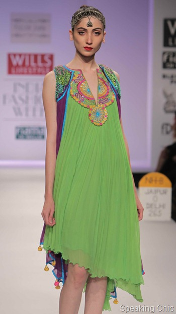 Pallavi Jaipur at WIFW AW 2012