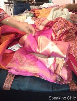 Kala Ghoda sari workshop with Bela Shanghavi