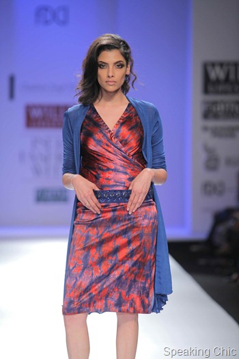Chandrani Singh Fllora at WIFW A/W 2012