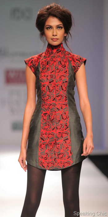 Bhanuni by Jyoti Sharma at WIFW AW 2012