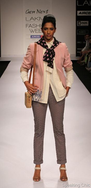 Archana Rao at LFW S/R 2012