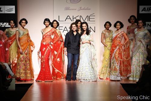 Bhairavi Jaikishan at LFW S/R 2012