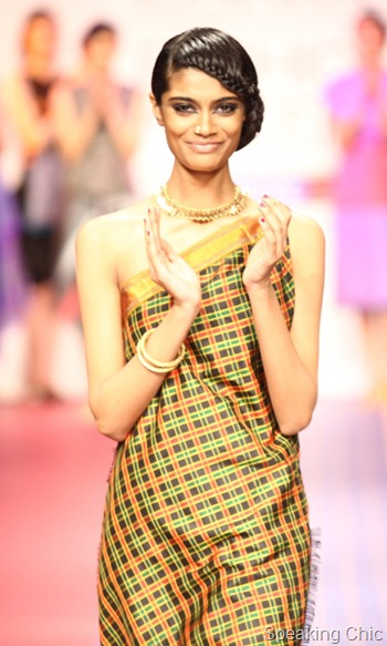 Deepika Govind at LFW S/R 2012