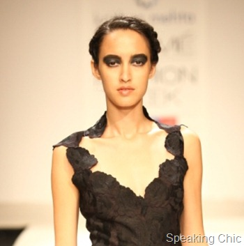 Krishna Mehta at LFW S/R 2012