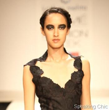 Krishna Mehta at LFW S/R 2012