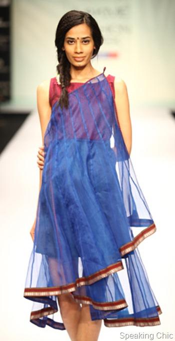 Vaishali Shadangule at LFW S/R 2012