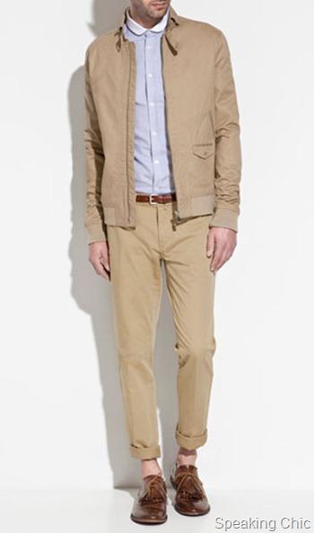 Zara jacket with buckle collar