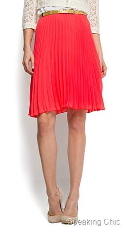 skirt from Mango